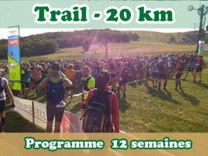 Préparer son premier trail de 20 km