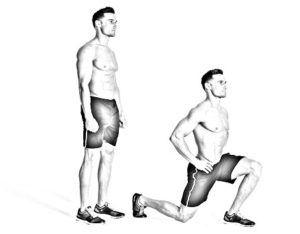 exercice fentes trail