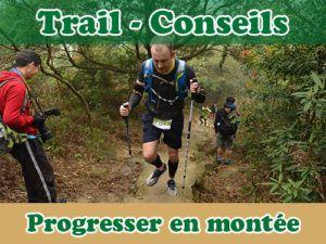 progresser en montée trail