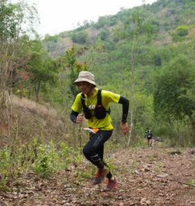 trail courir en montée