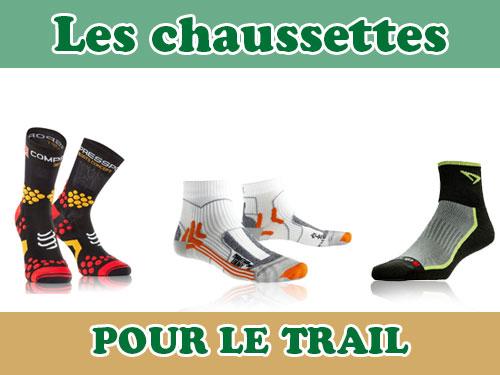 Chaussettes pour le trail