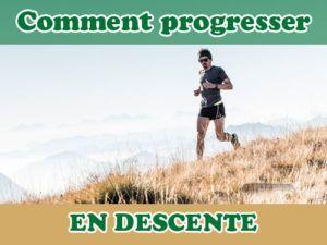 trail progresser en descente